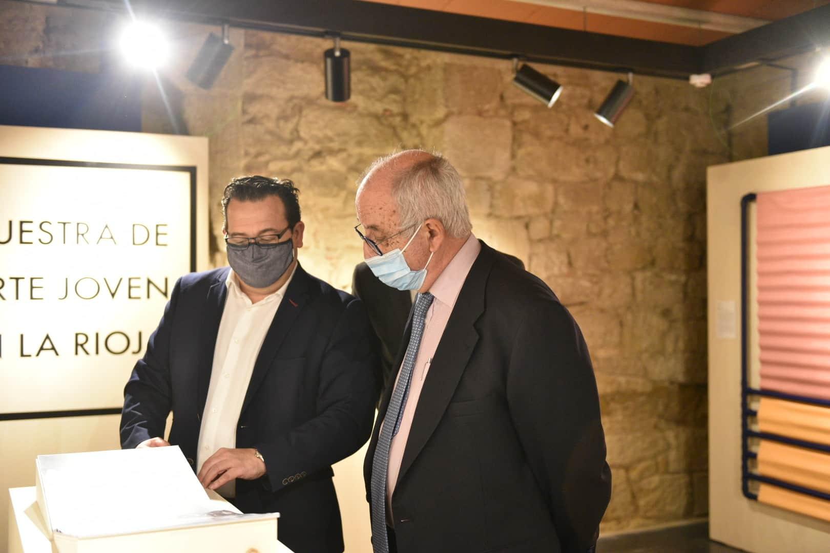 Inaugurada en Briones la exposición de la XXXV Muestra Itinerante de Arte Joven de La Rioja 1