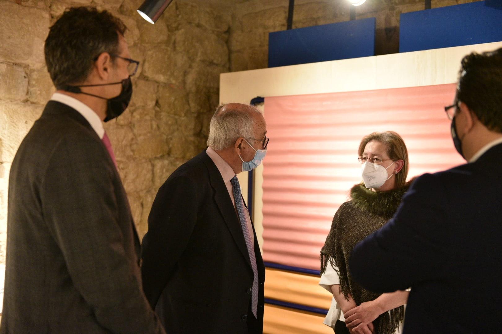 Inaugurada en Briones la exposición de la XXXV Muestra Itinerante de Arte Joven de La Rioja 2