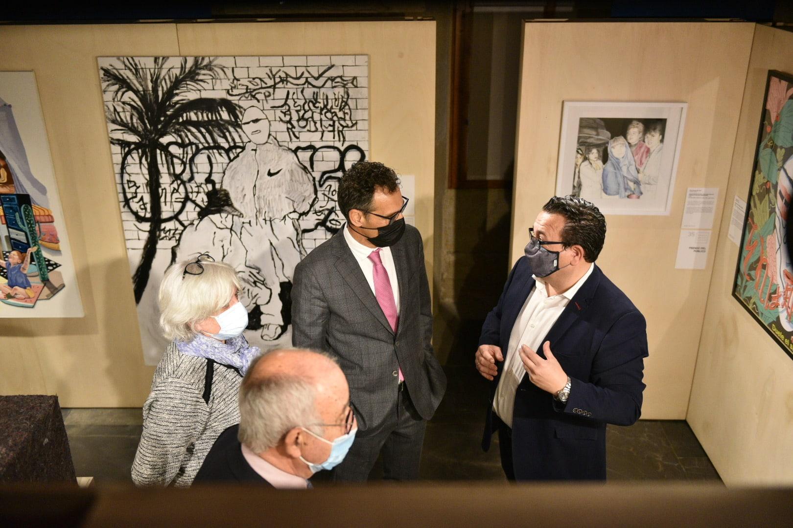 Inaugurada en Briones la exposición de la XXXV Muestra Itinerante de Arte Joven de La Rioja 3