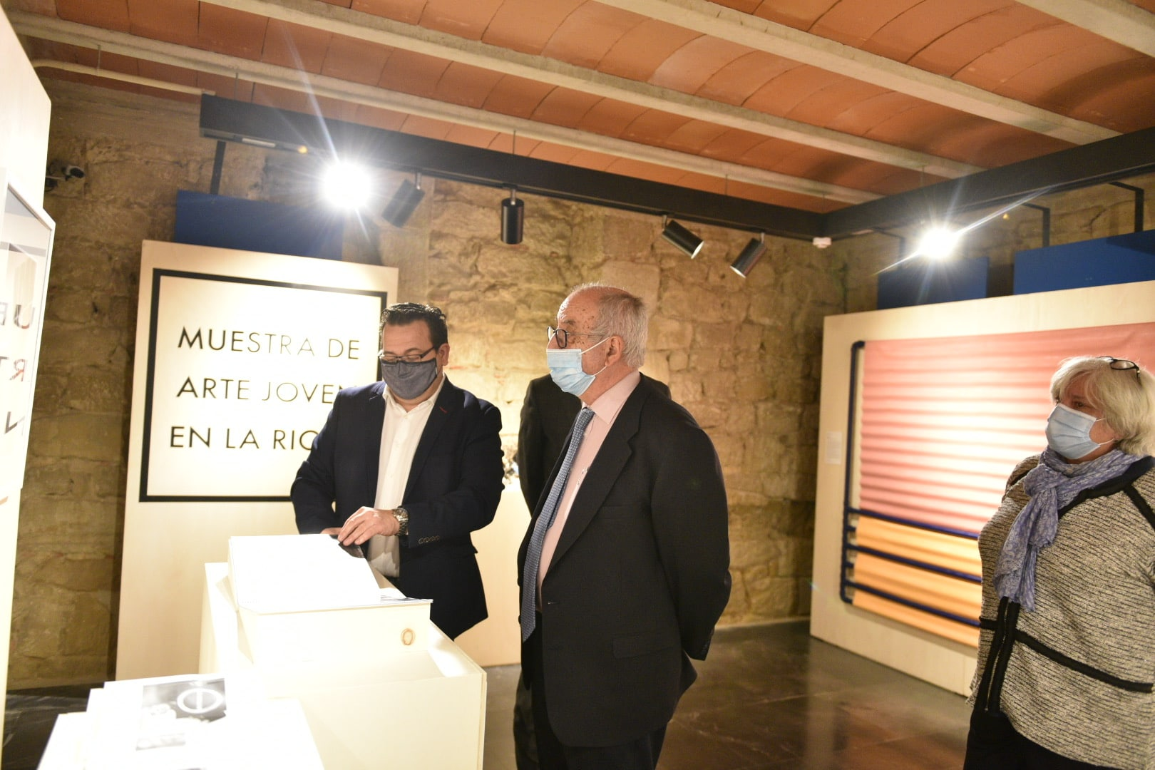 Inaugurada en Briones la exposición de la XXXV Muestra Itinerante de Arte Joven de La Rioja 4