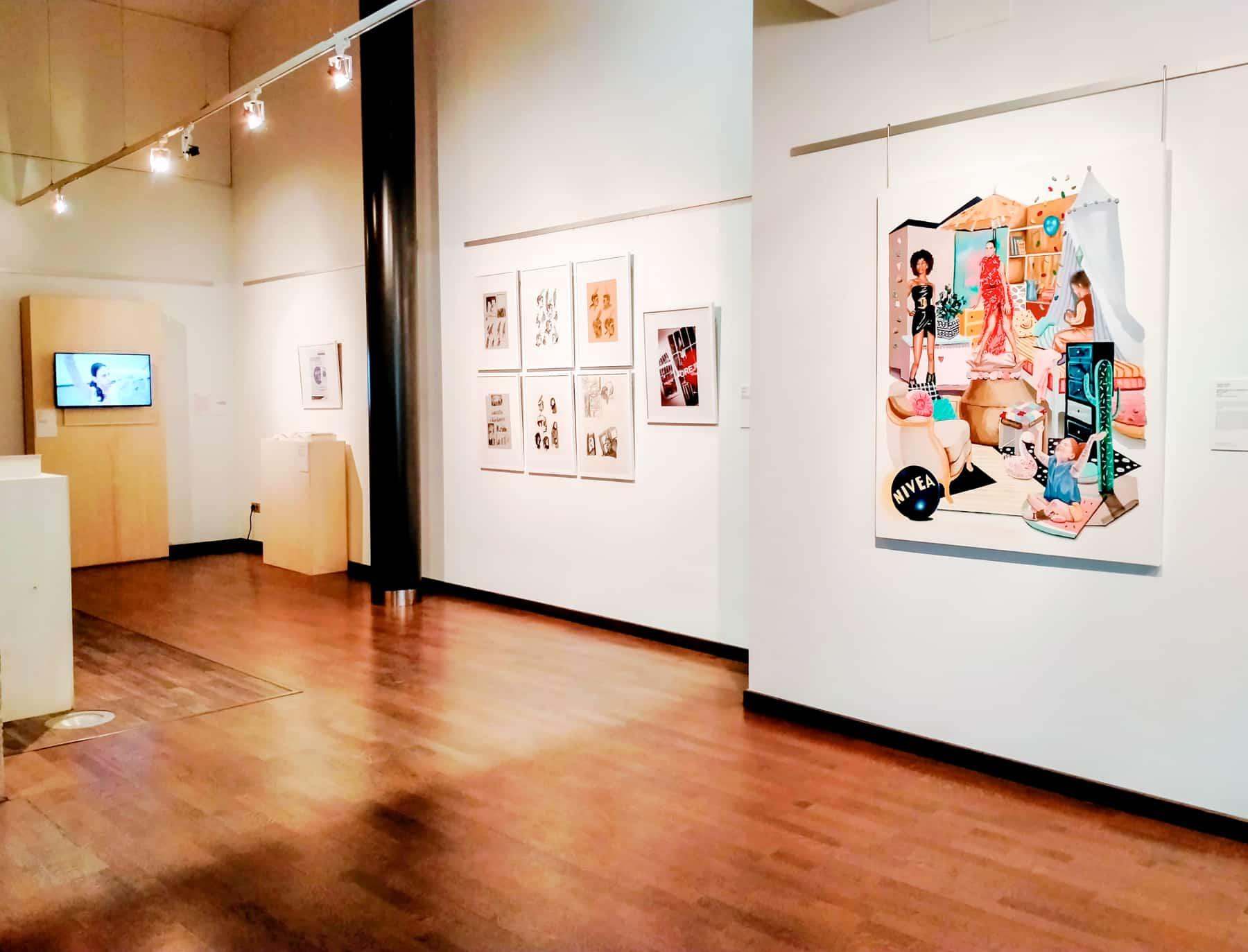 La Muestra Itinerante de Arte Joven de La Rioja llega a Haro 1