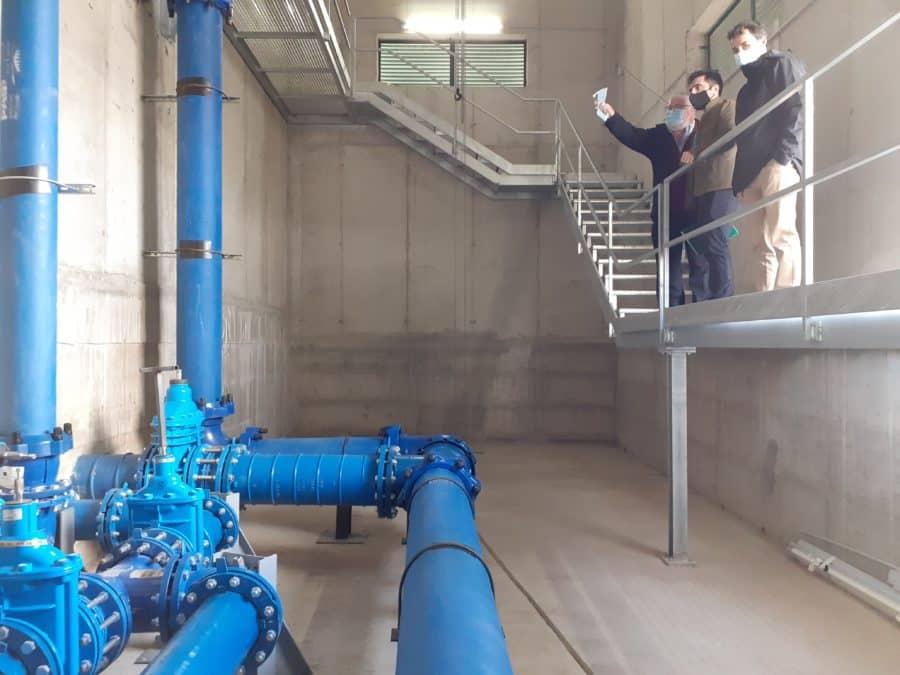 La Rioja pone en marcha dos nuevas infraestructuras hidráulicas en Tormantos y Hormilla 9