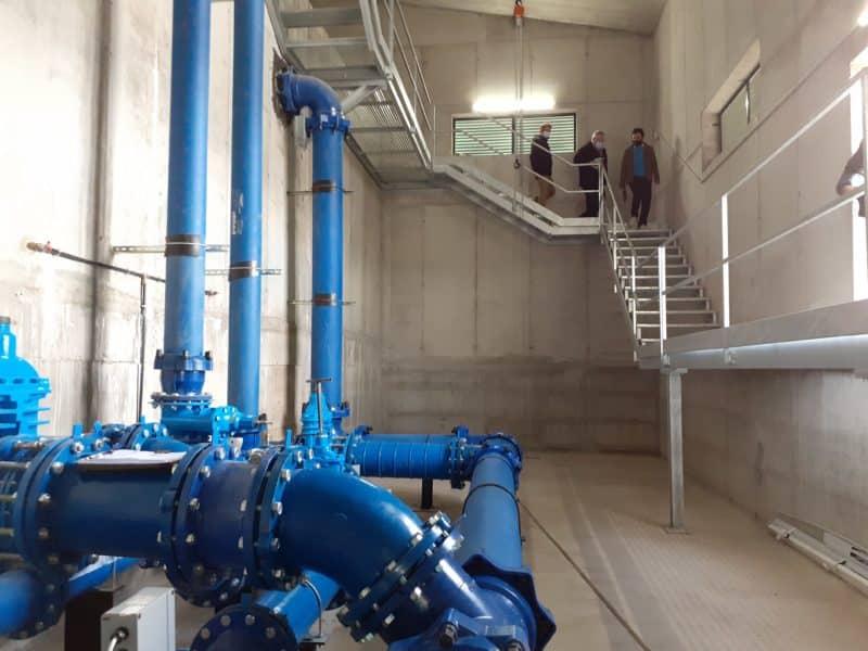 Obra hidráulica en Hormilla