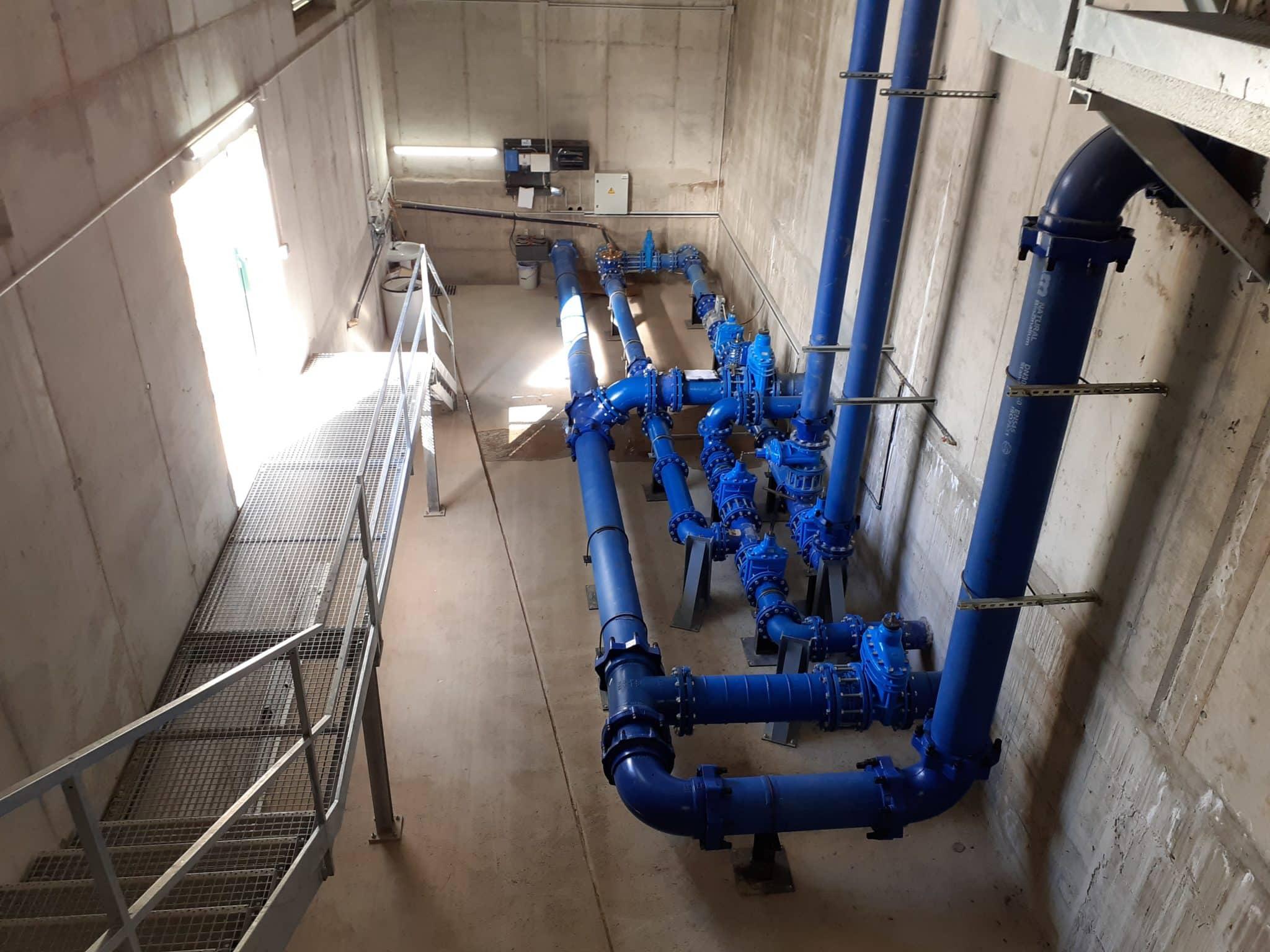 La Rioja pone en marcha dos nuevas infraestructuras hidráulicas en Tormantos y Hormilla 1