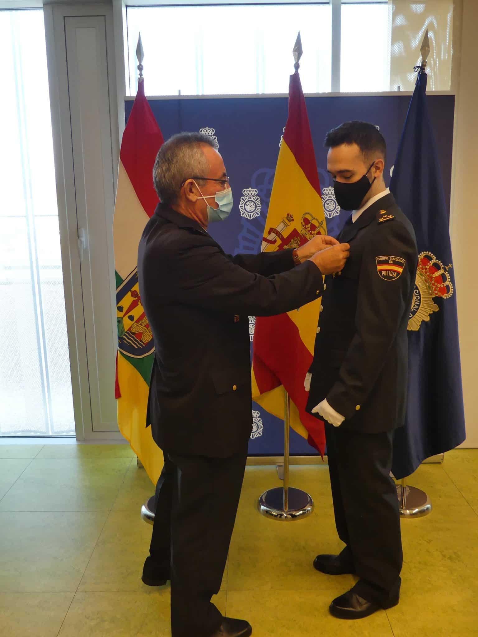 La Policía Nacional en La Rioja concede el ingreso en la Orden del Mérito Policial 2