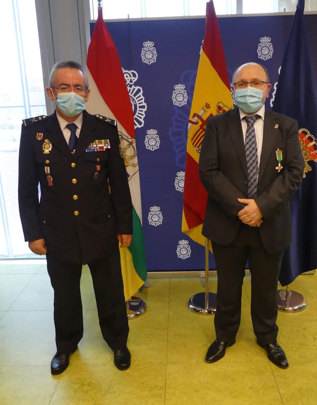 La Policía Nacional en La Rioja concede el ingreso en la Orden del Mérito Policial 1