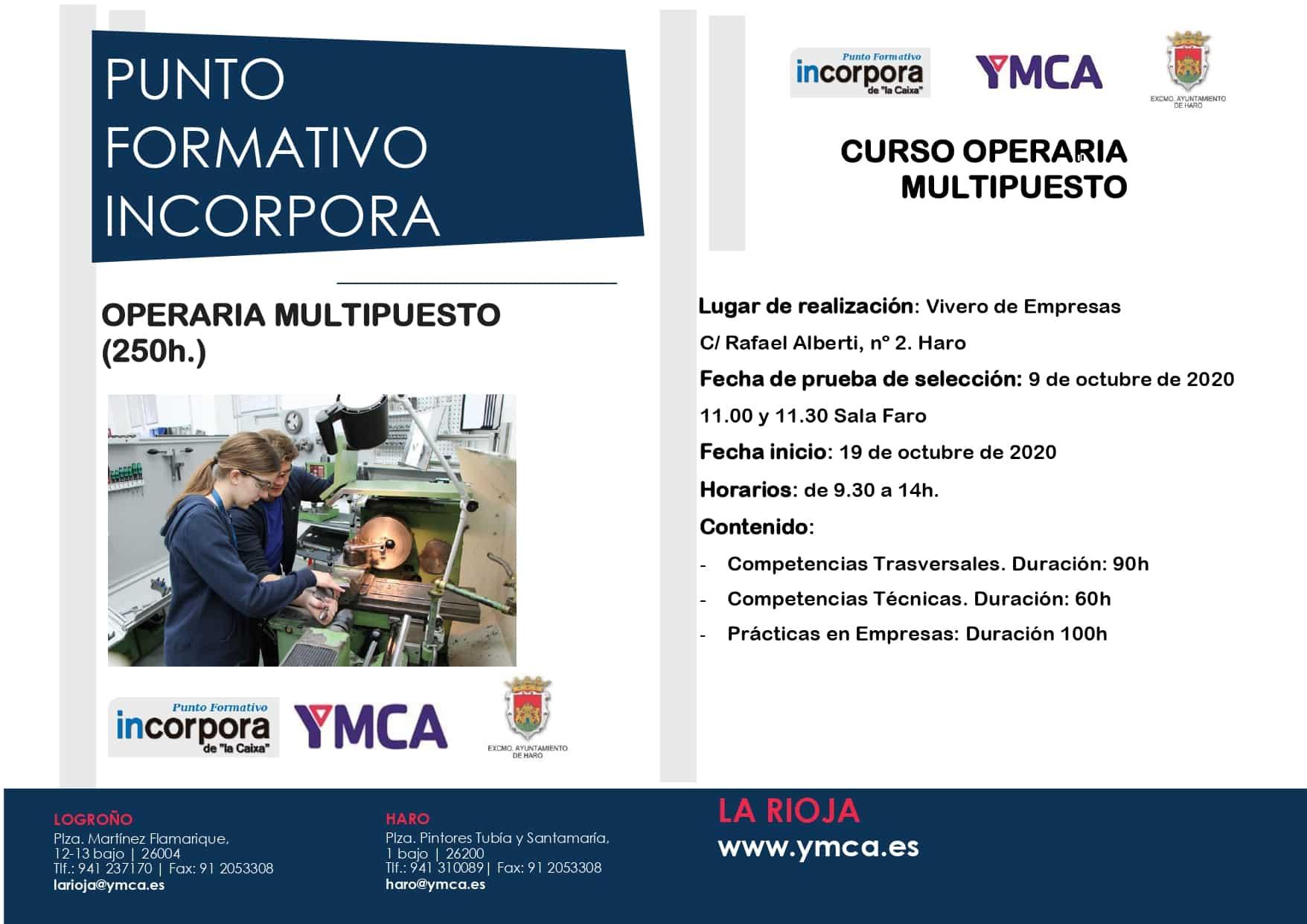 Formación YMCA