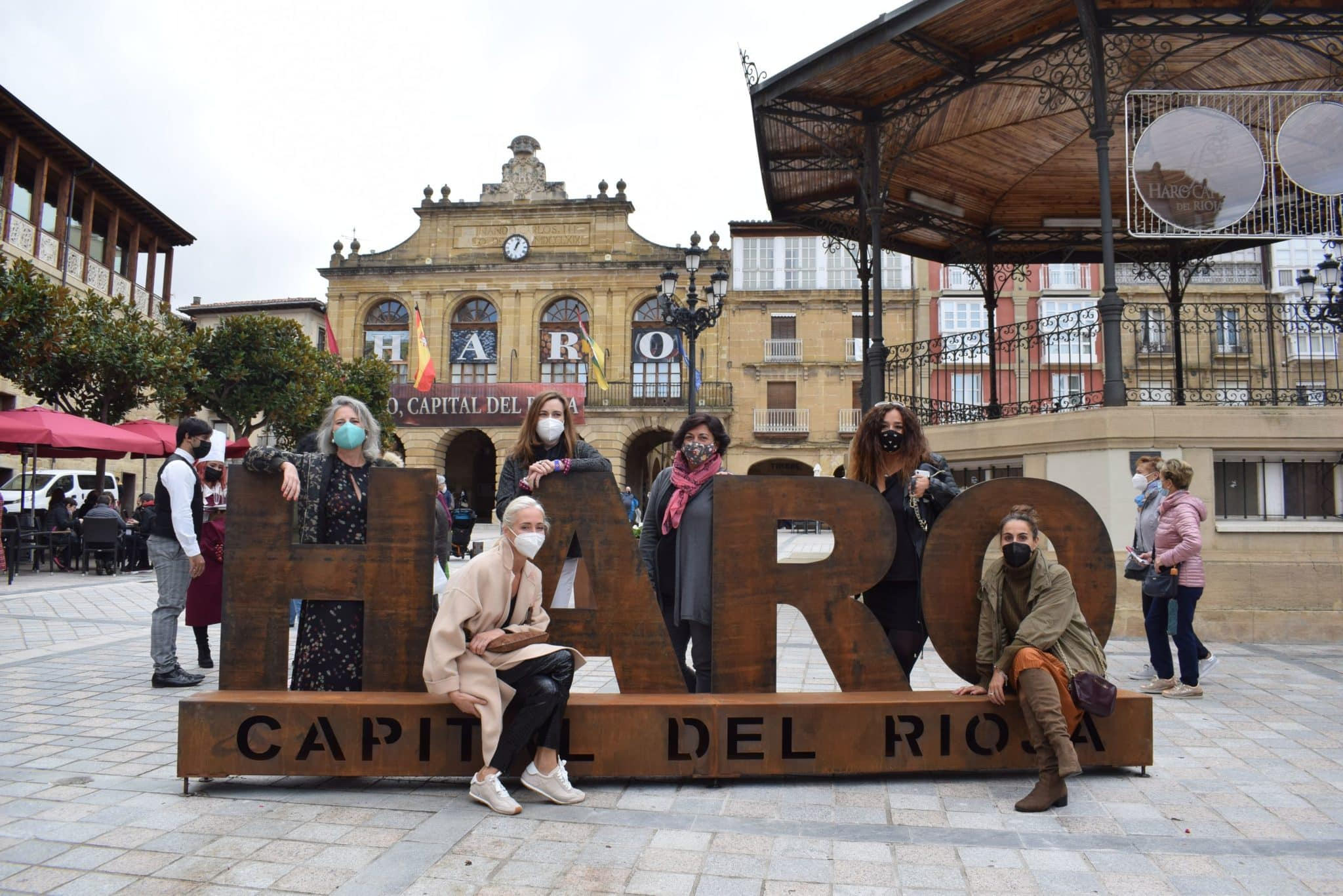 Photocall Haro Capital del Rioja