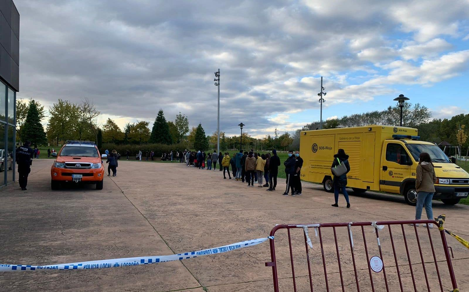 Cribado masivo en Logroño