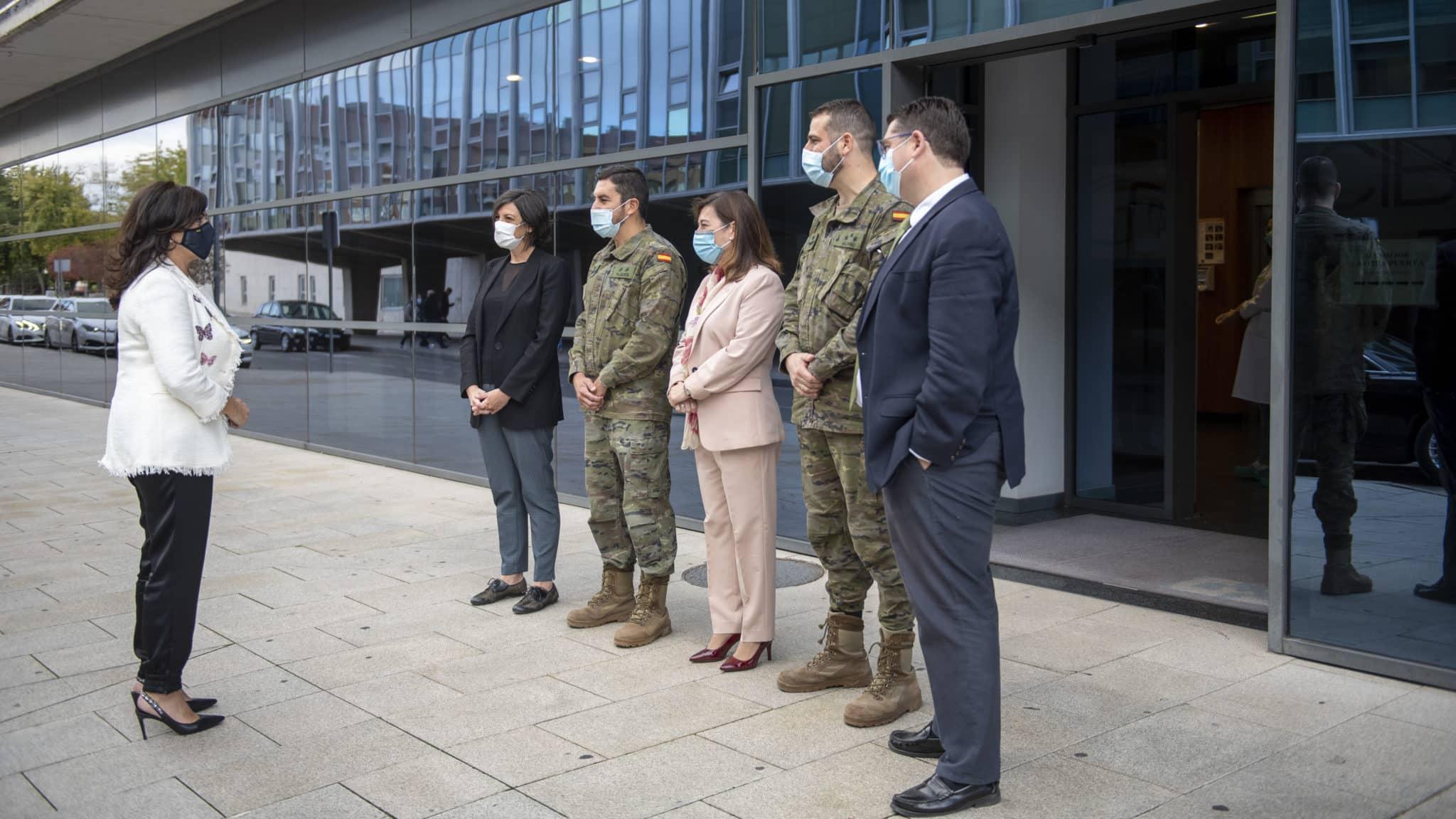 Un equipo de 24 militares se incorpora a la unidad de rastreadores de La Rioja 5