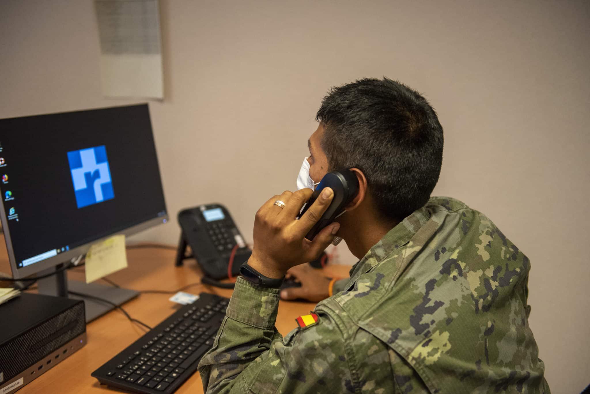 Un equipo de 24 militares se incorpora a la unidad de rastreadores de La Rioja 4