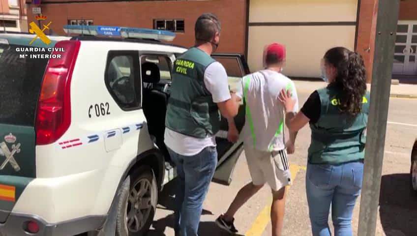 La Guardia Civil detiene a tres personas por robos con fuerza en La Rioja 1