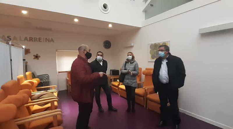 Visita de Pablo Rubio a Casalarreina