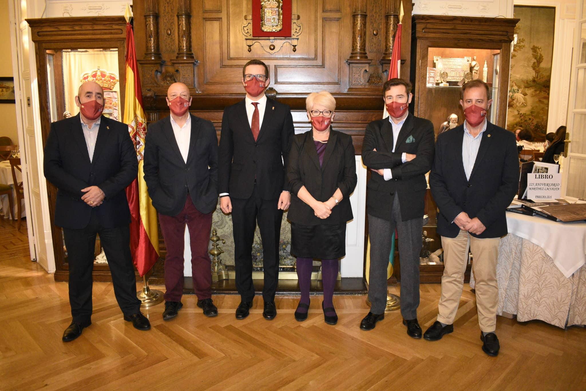 El Centro Riojano de Madrid celebra el 125 aniversario de Martínez-Lacuesta 4