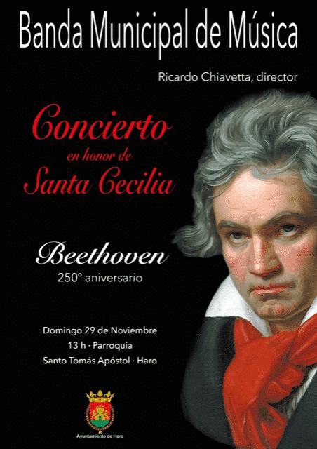 La Banda de Música de Haro actuará este domingo en Santo Tomás para celebrar Santa Cecilia 1