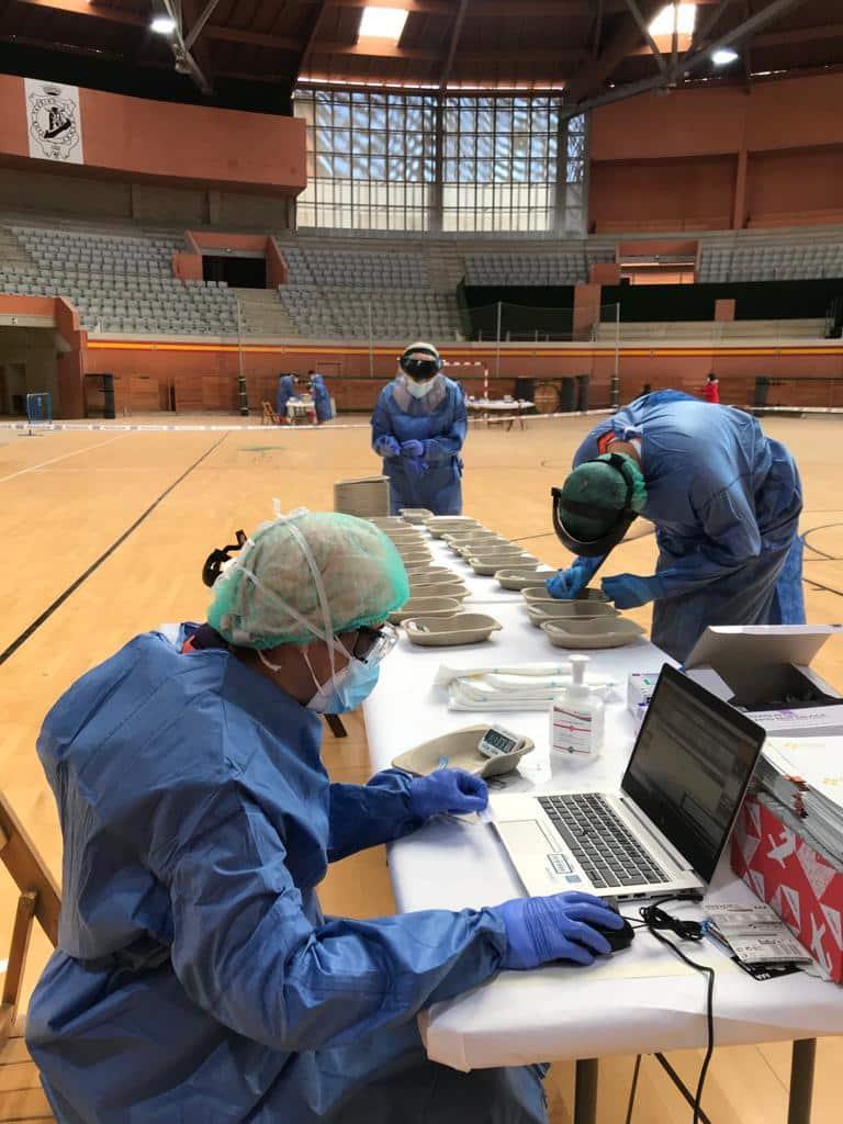 Dispositivo especial de cribado en Arnedo dirigido para la detección de la COVID-19 2