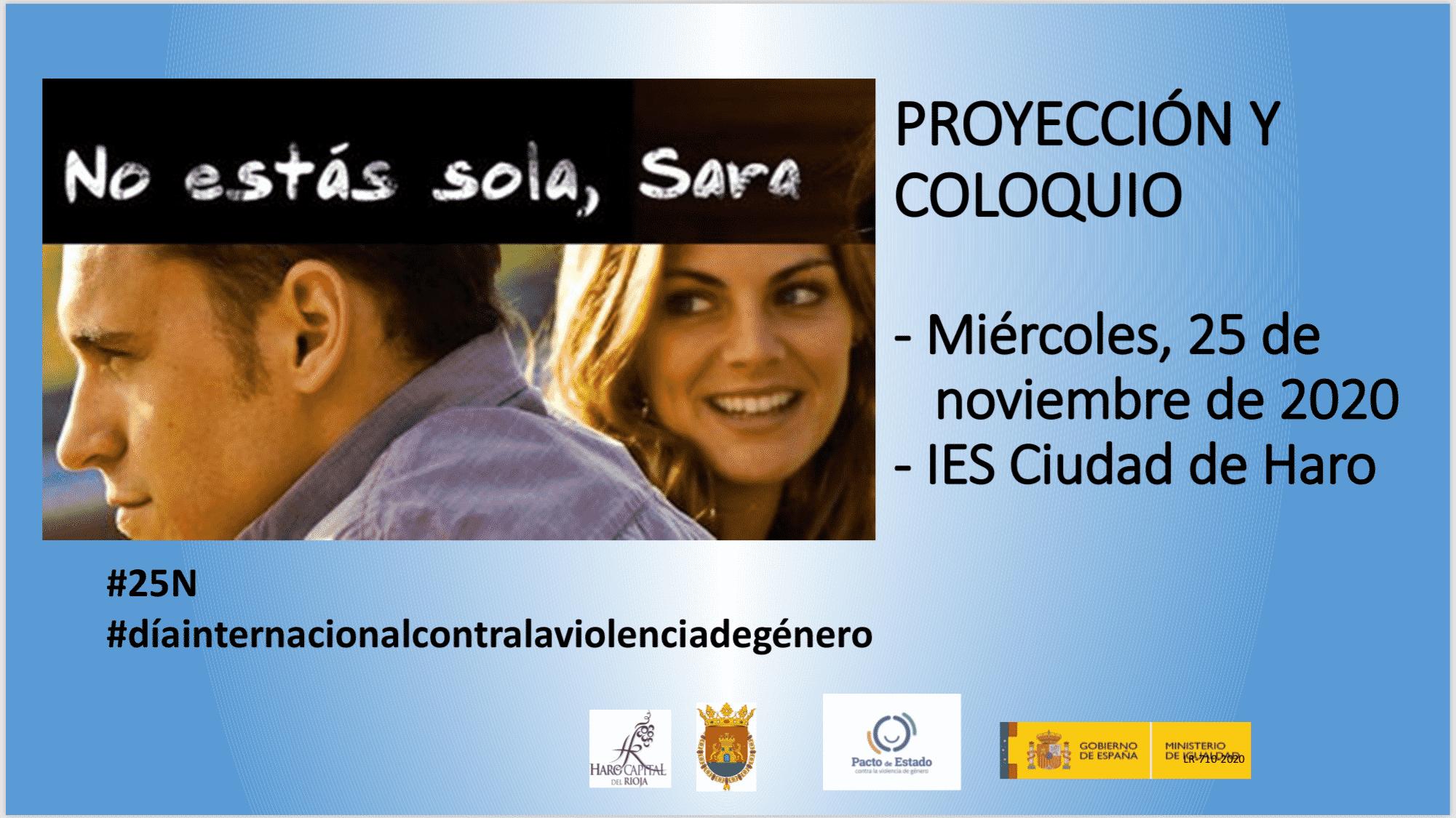 El Ayuntamiento celebrará el Día contra la Violencia de Género con alumnos del IES Ciudad de Haro 1