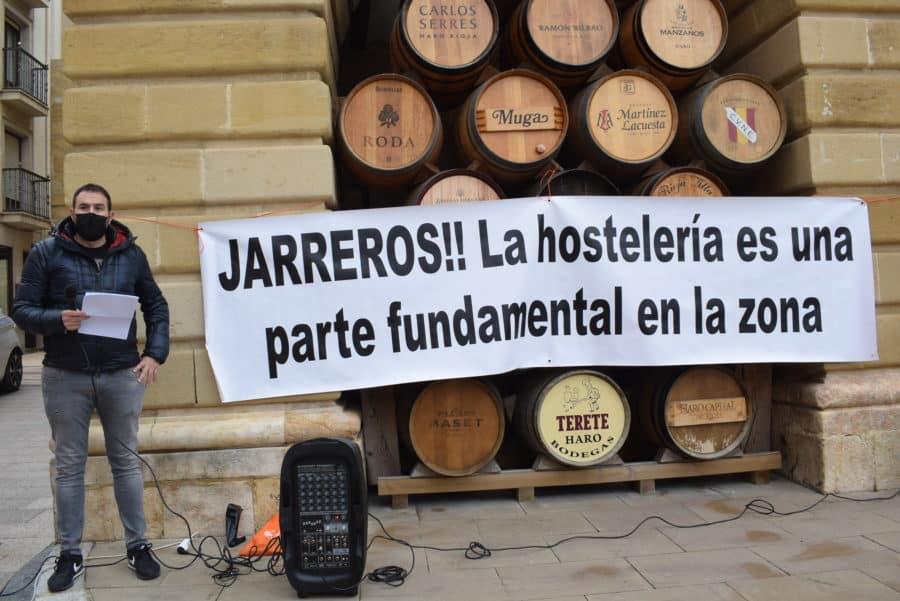 """VÍDEO: La hostelería de Haro pide medidas """"urgentes"""" para el rescate del sector 10"""