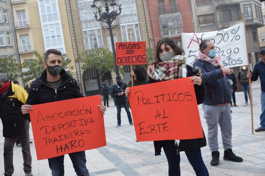 """VÍDEO: La hostelería de Haro pide medidas """"urgentes"""" para el rescate del sector 4"""