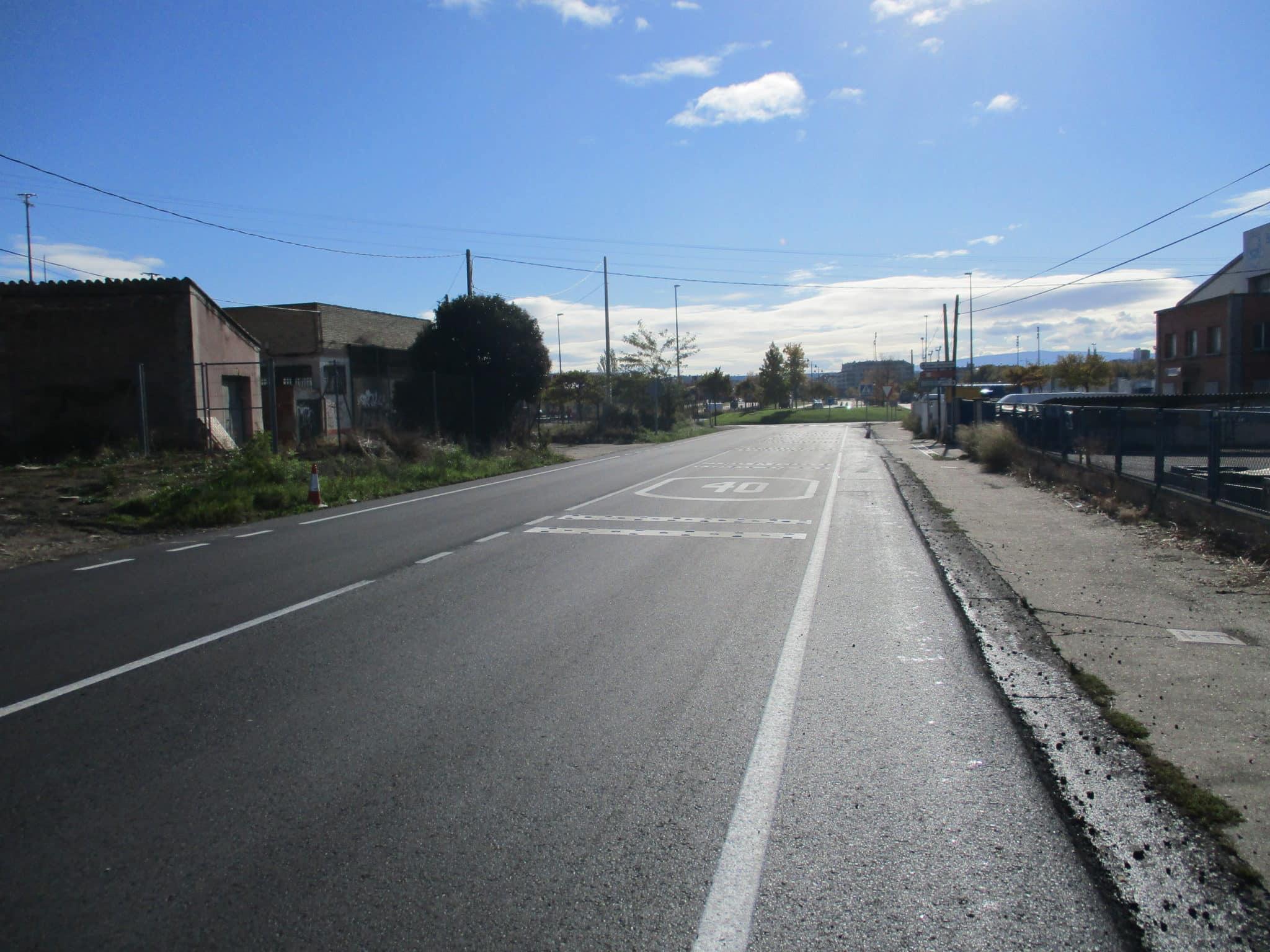 La Rioja destina más de 300.000 euros a la mejora de la carretera LR-124 entre Logroño y Álava 1