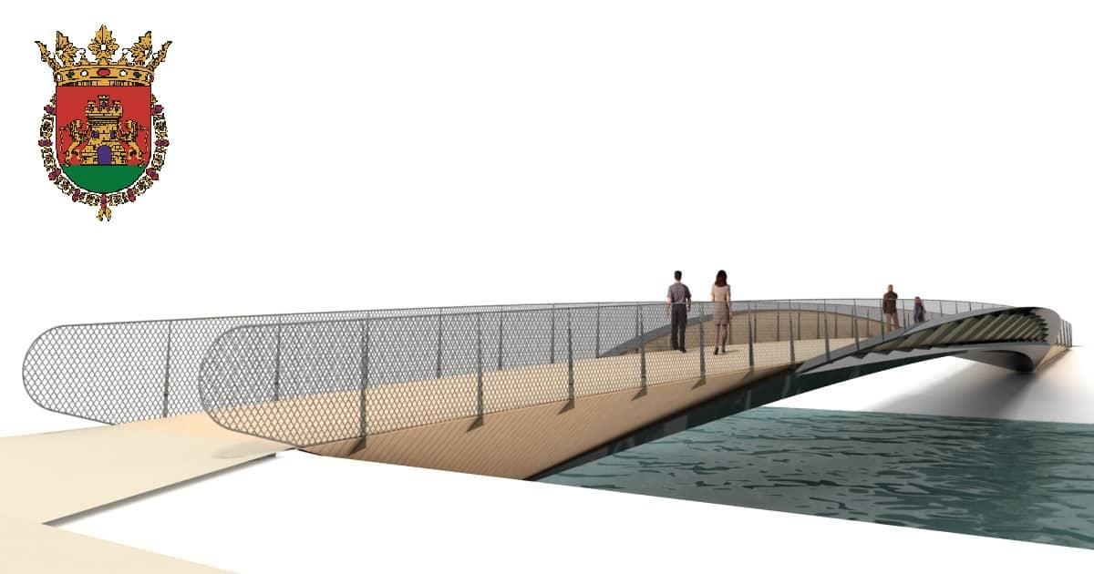 La pasarela que unirá el Barrio de la Estación de Haro con su casco histórico será una realidad en 2021 1