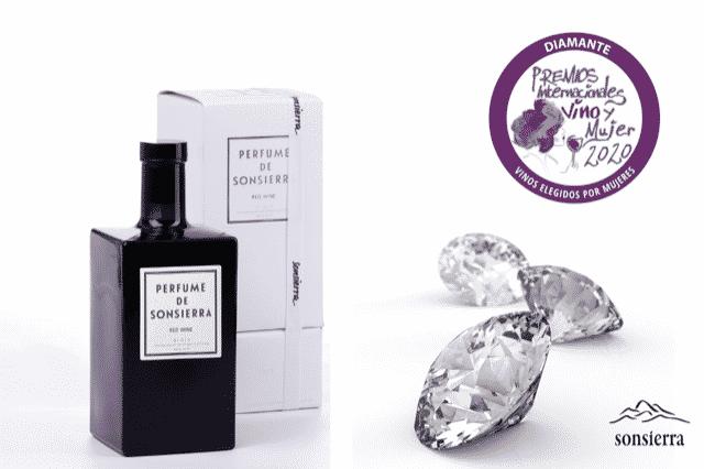 Perfume de Sonsierra 2014, reconocido en los Premios Internacionales Vino y Mujer 1