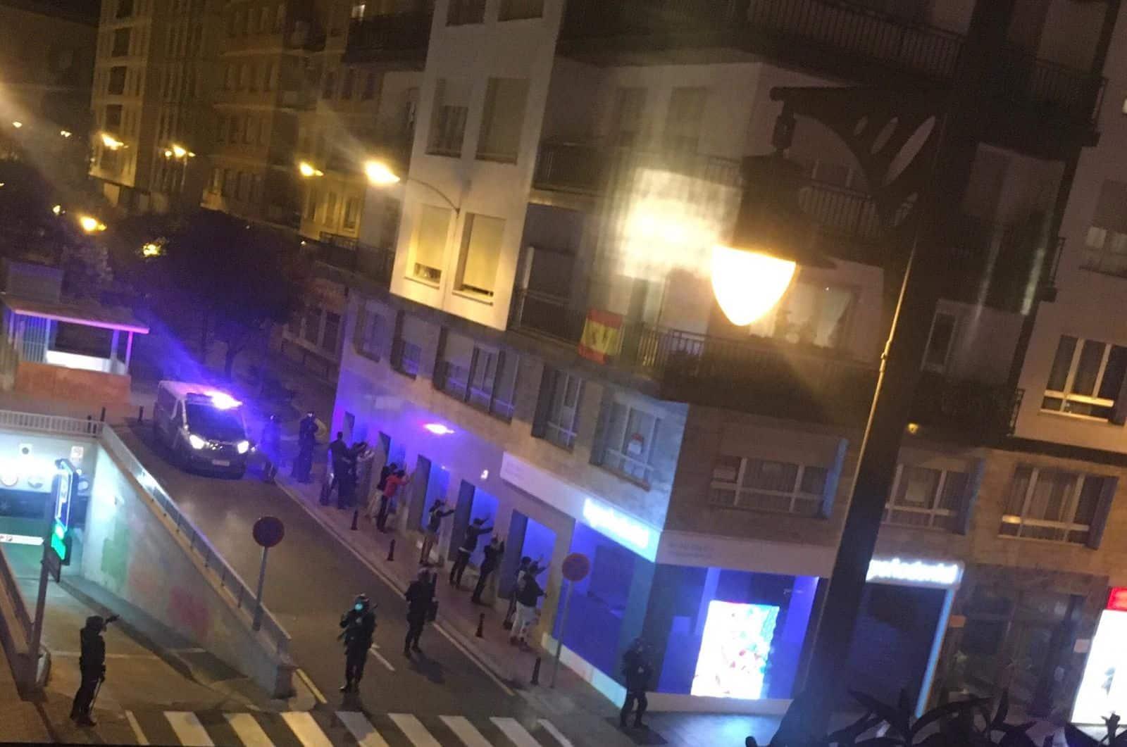 Actos violentos Logroño