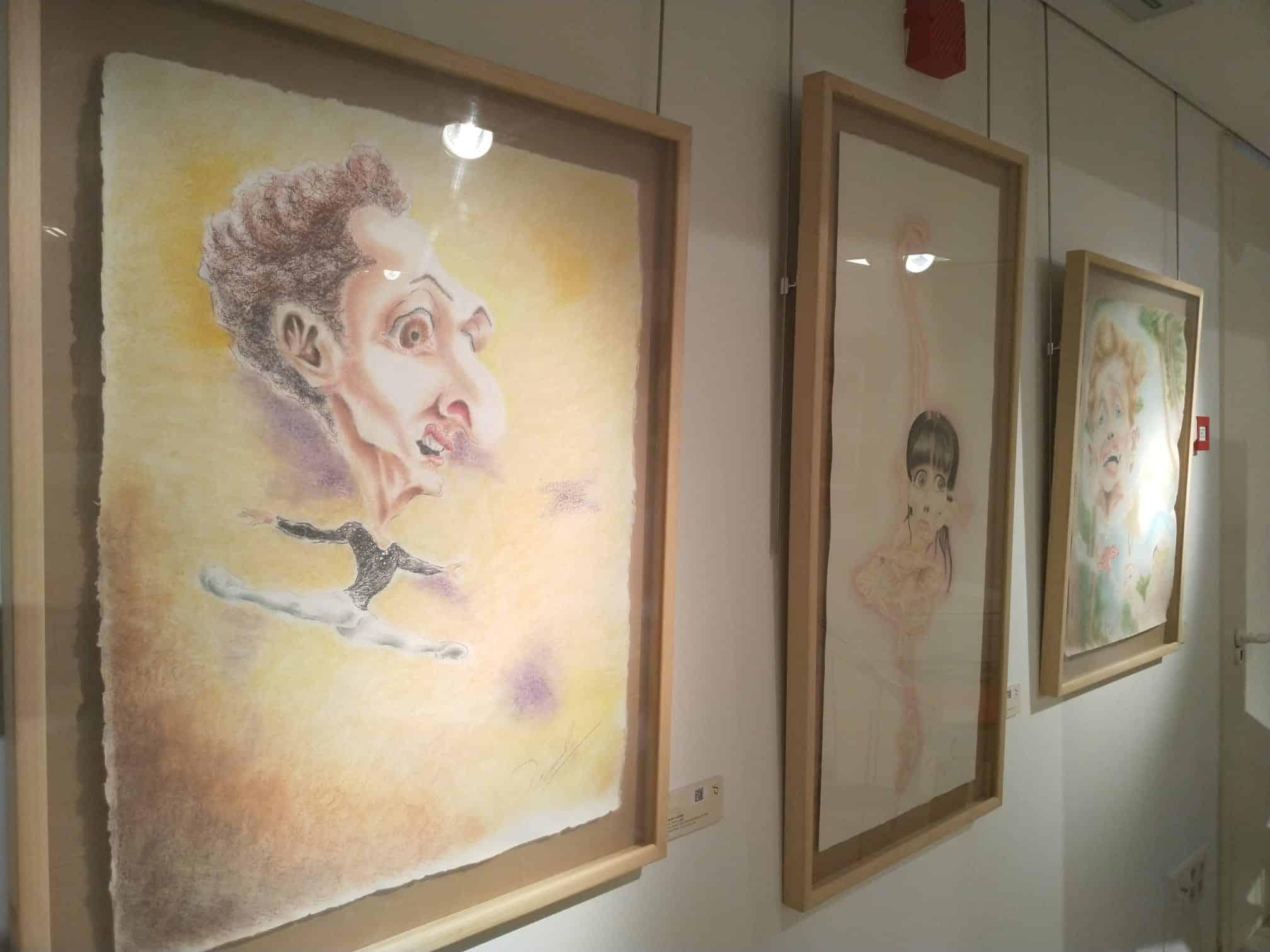 El Centro Fundación Caja Rioja-Bankia de Santo Domingo acoge una exposición de caricaturas de Fredy Rodríguez 1