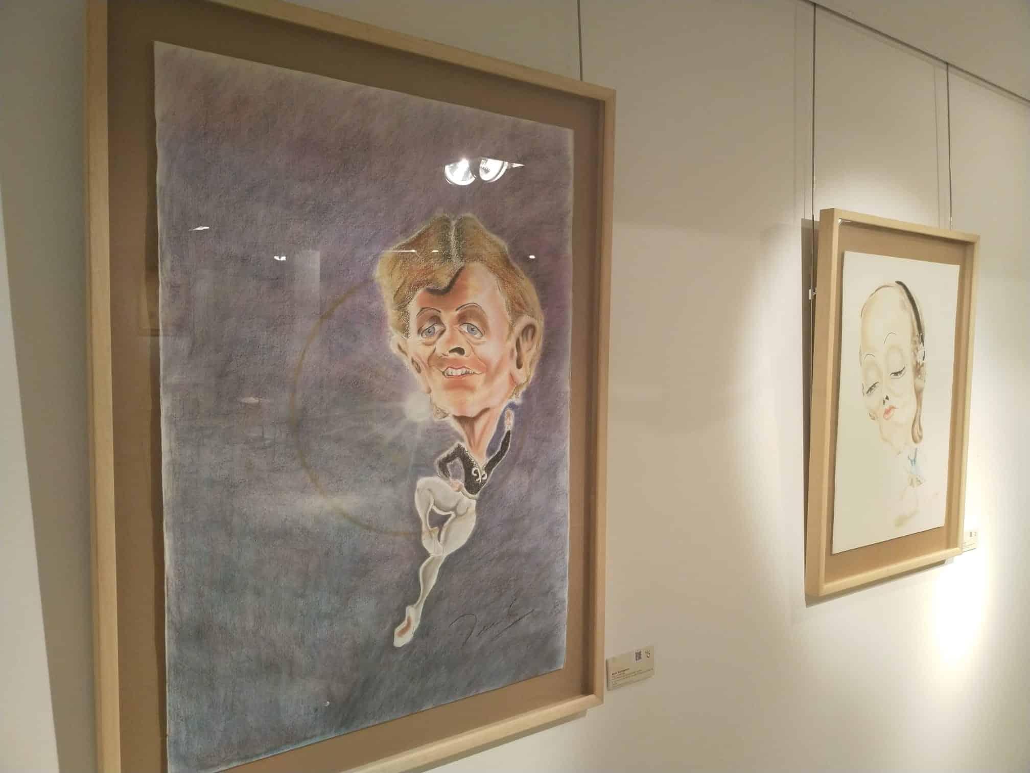El Centro Fundación Caja Rioja-Bankia de Santo Domingo acoge una exposición de caricaturas de Fredy Rodríguez 2