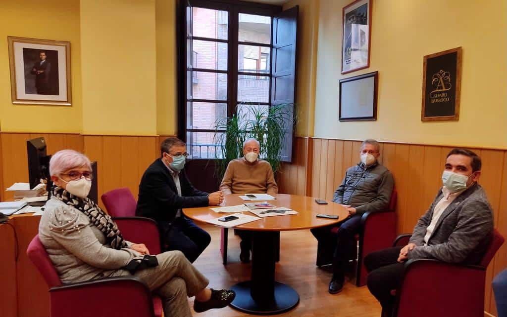 Reunión en Alfaro