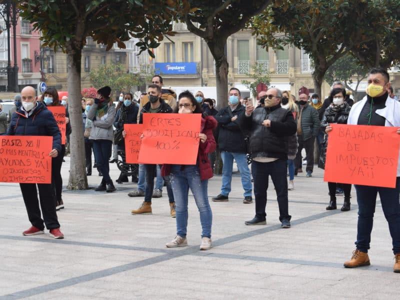 Manifestación Hostelería de Haro