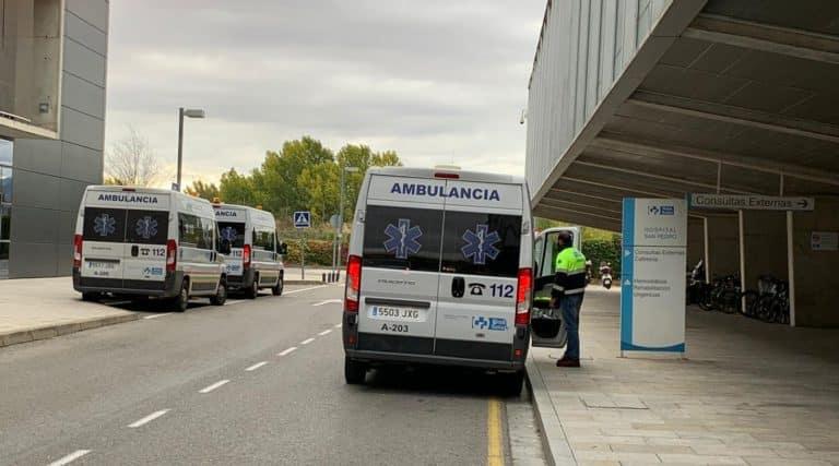 Ambulancias en el San Pedro