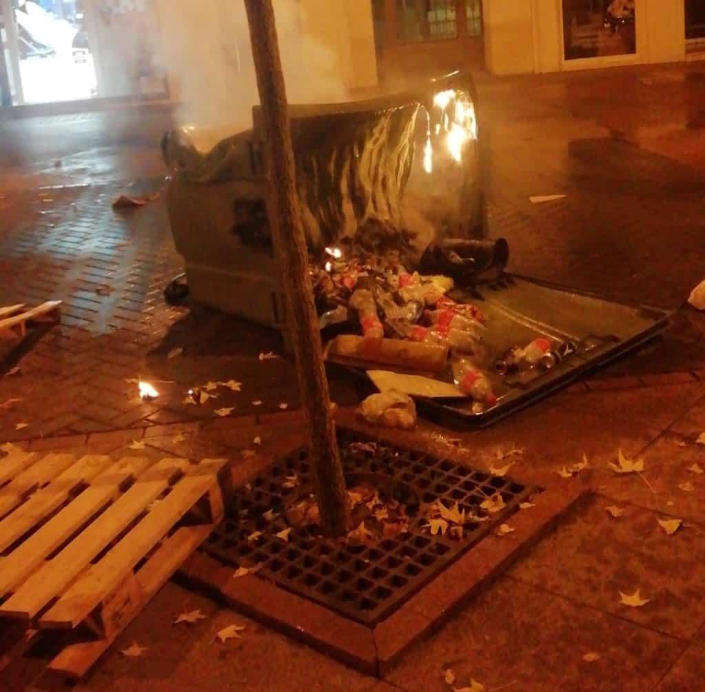 Disturbios Logroño