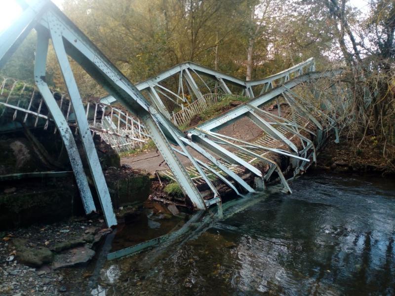 La Rioja adjudica por 16.274 euros la asistencia técnica para consolidar el tramo del puente de Arenzana no afectado tras el hundimiento 1