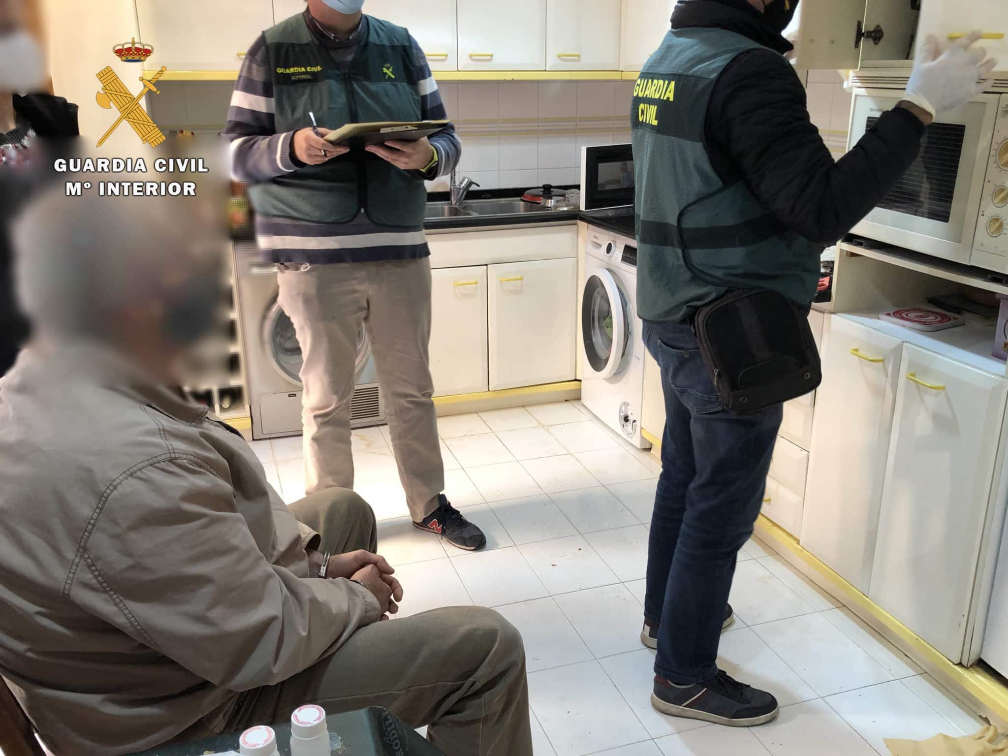 Nuevo golpe al tráfico de cocaína y 'speed' en Calahorra 8