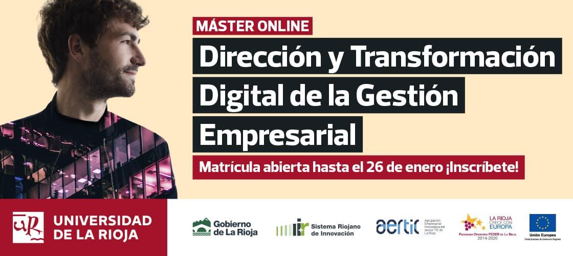 La UR y AERTIC lanzan un máster online que multiplica las posibilidades de empleo de los jóvenes 1