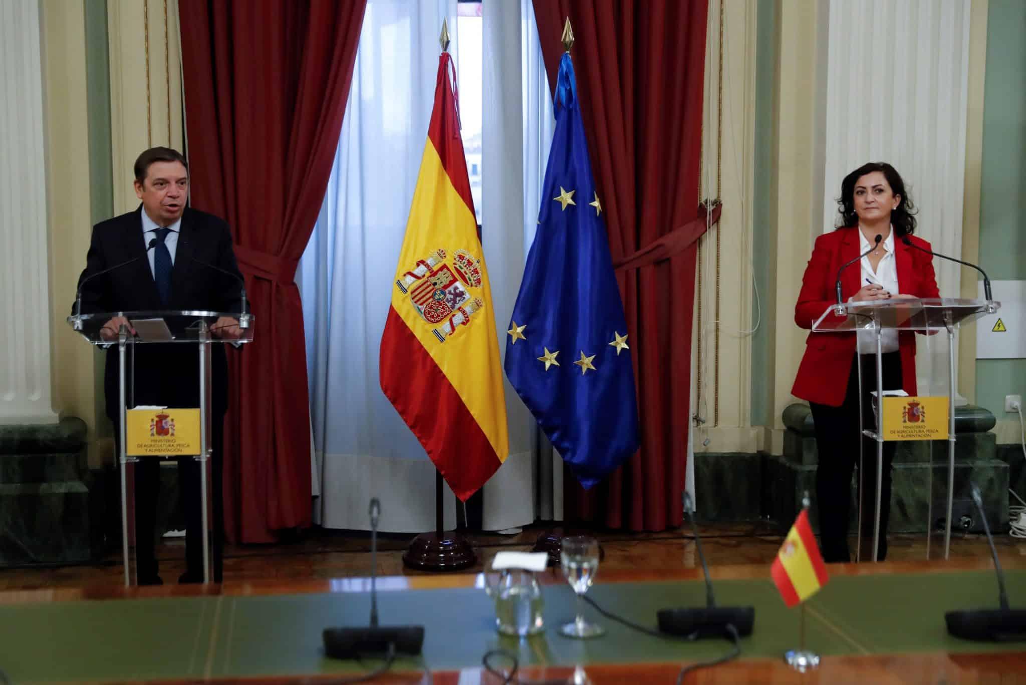 """Andreu presenta al ministro Planas los proyectos de regadíos para la región como """"eje de sostenibilidad"""" 2"""