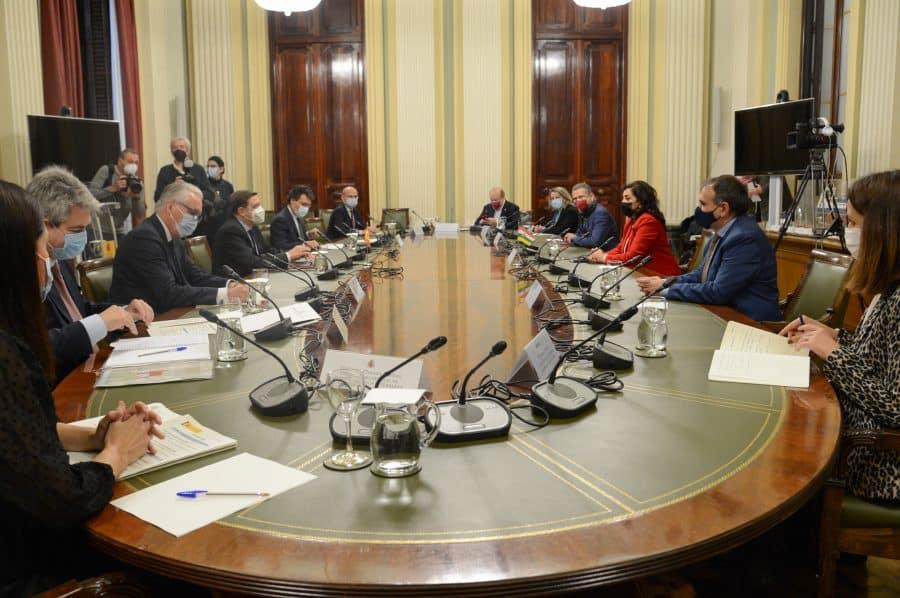 """Andreu presenta al ministro Planas los proyectos de regadíos para la región como """"eje de sostenibilidad"""" 1"""