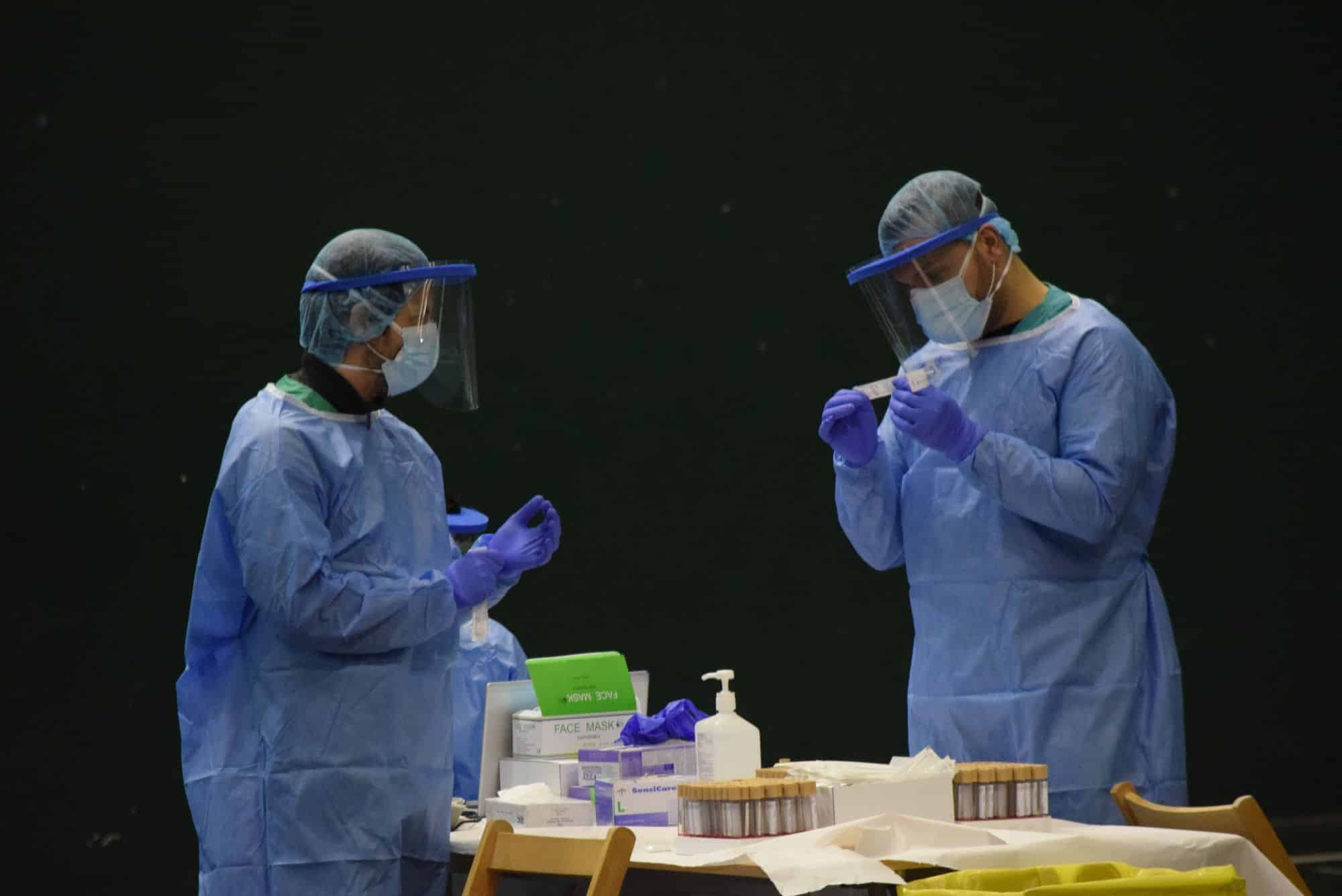 Salud realiza hoy un cribado especial de test PCR en Haro 1