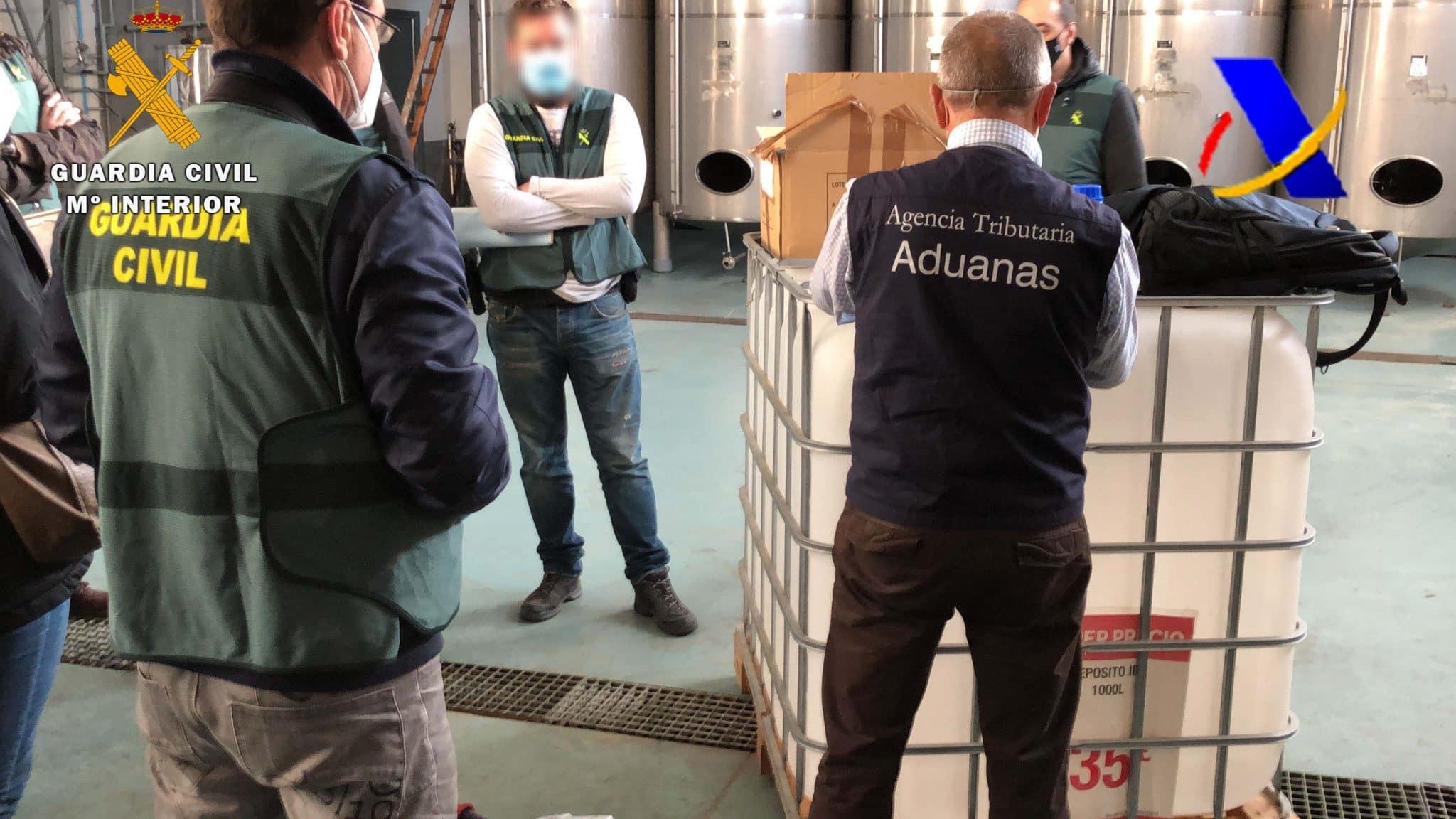 VÍDEO: Desmantelada en La Rioja una de las mayores destilerías ilegales de whisky 9