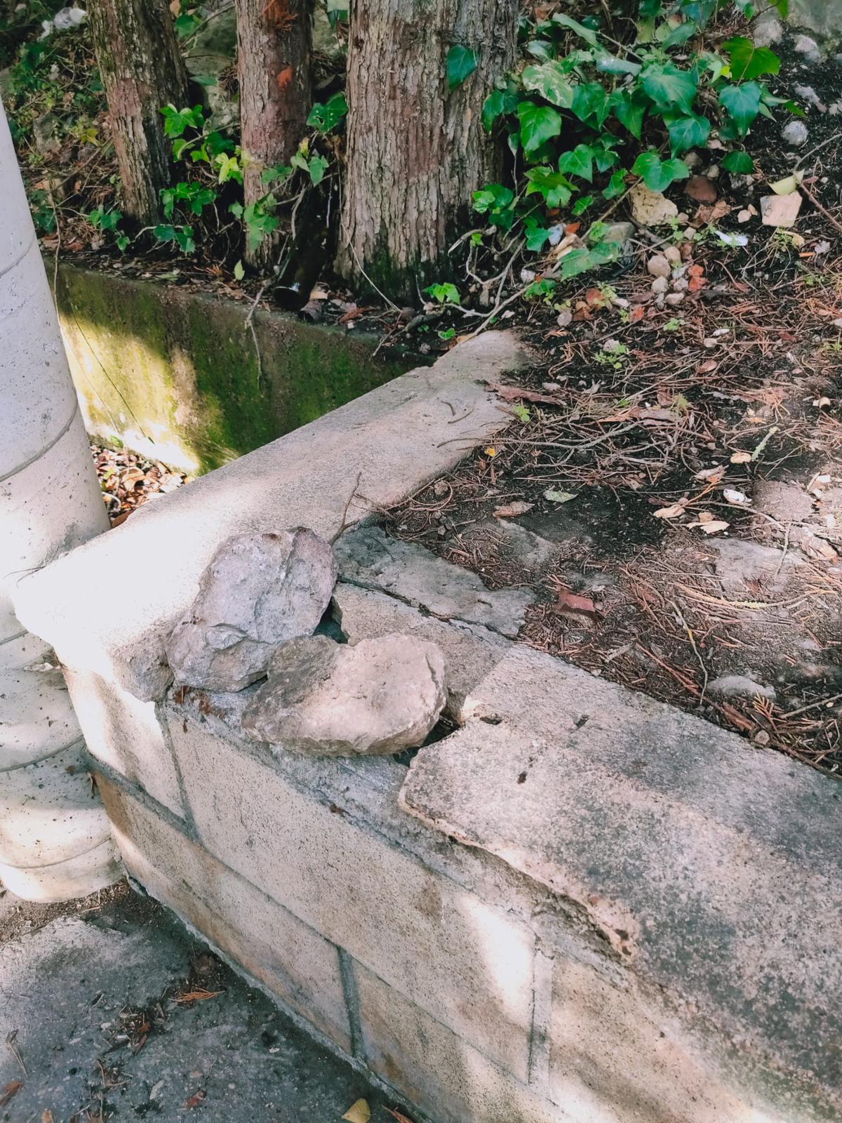 La Cofradía de San Felices denuncia destrozos en un asador de los Riscos de Bilibio 1