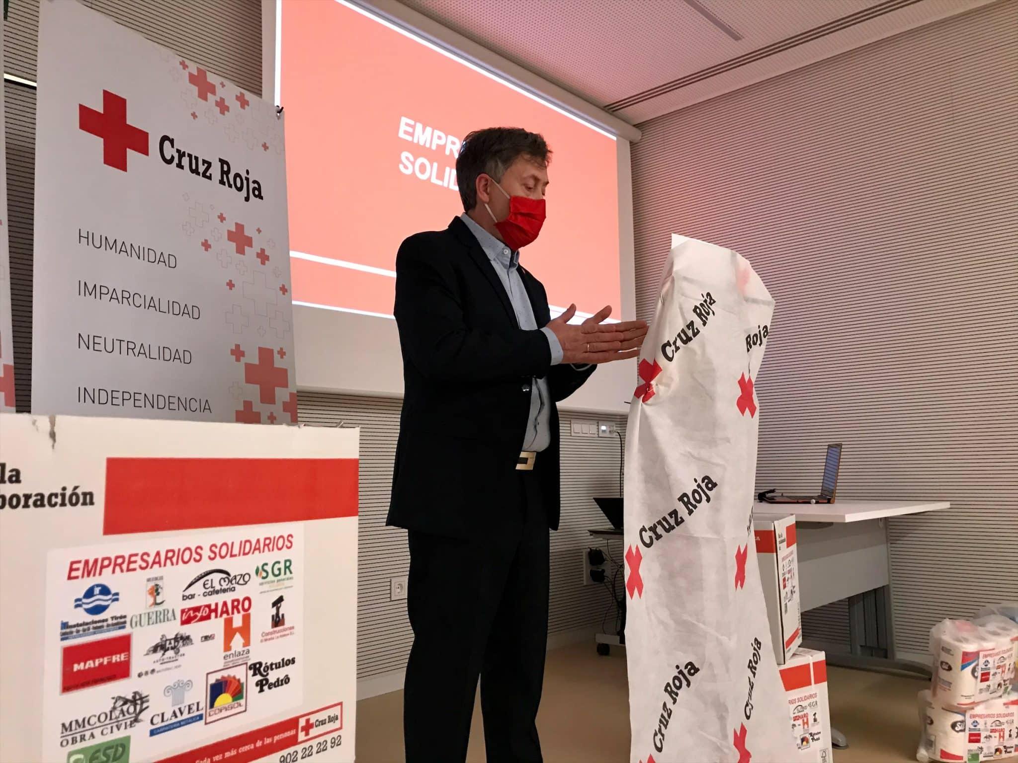 15 empresarios colaboran con Cruz Roja Haro en un proyecto solidario para ayudar a familias vulnerables 1