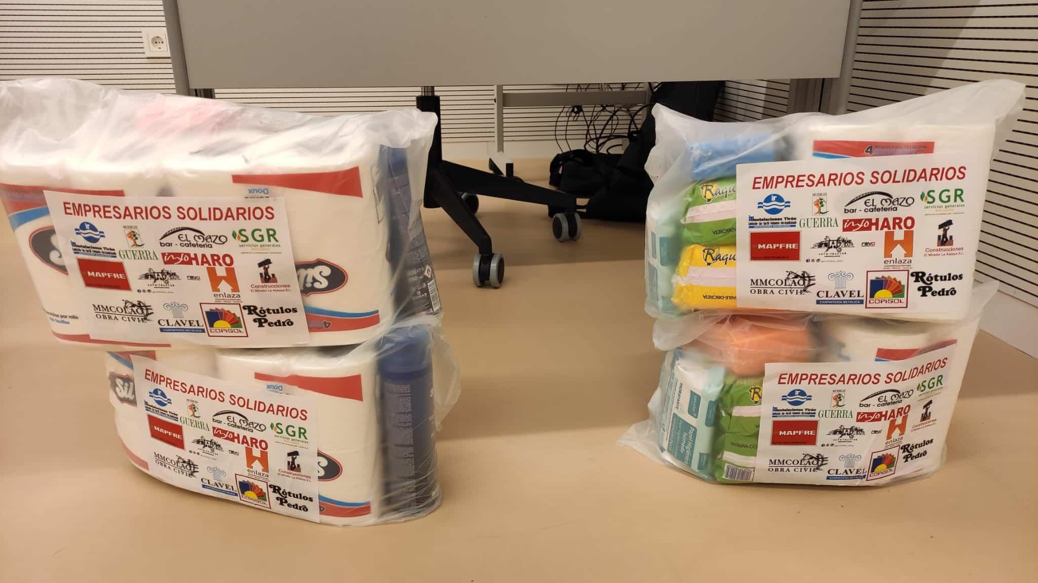 15 empresarios colaboran con Cruz Roja Haro en un proyecto solidario para ayudar a familias vulnerables 3