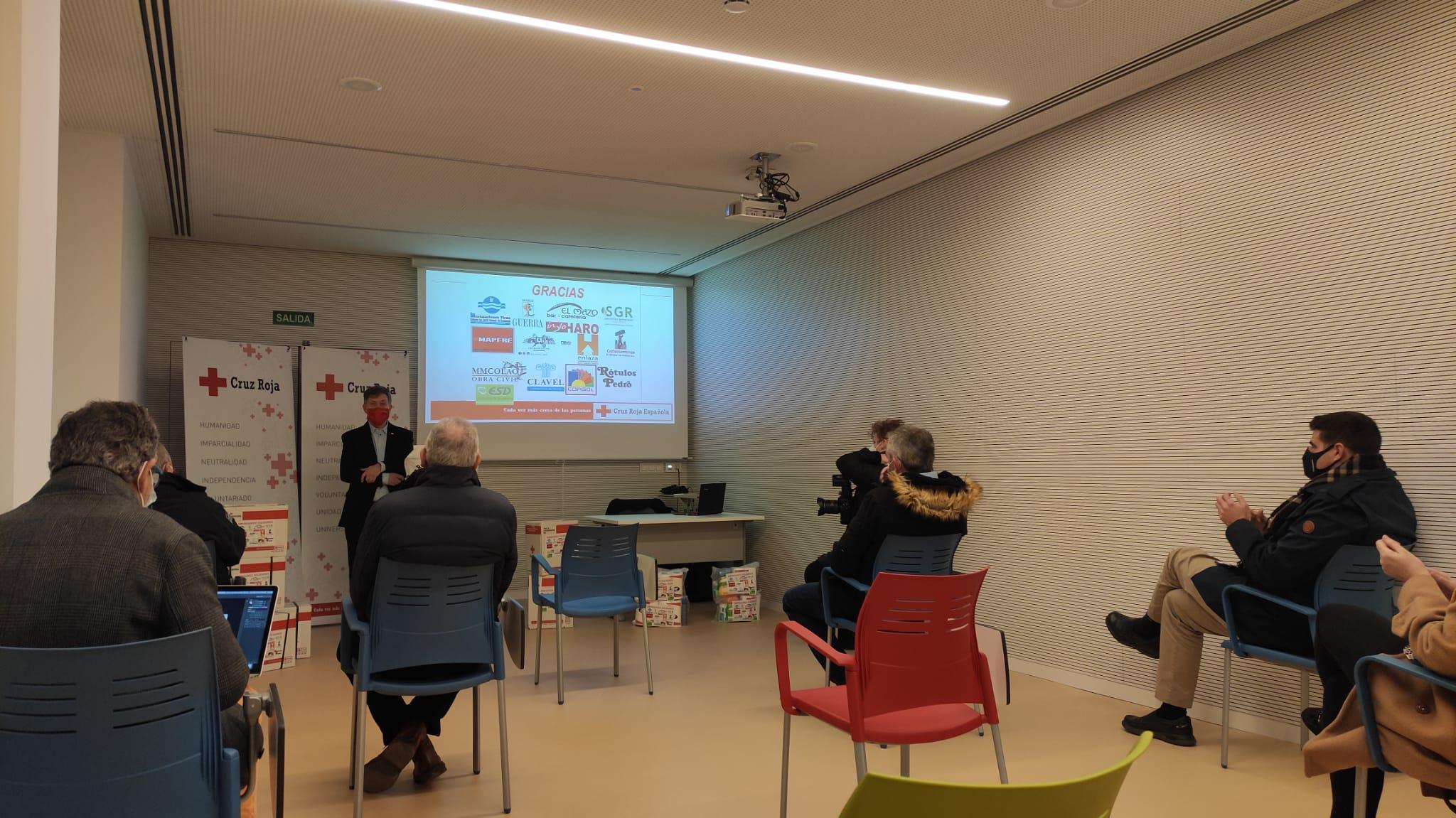 15 empresarios colaboran con Cruz Roja Haro en un proyecto solidario para ayudar a familias vulnerables 2