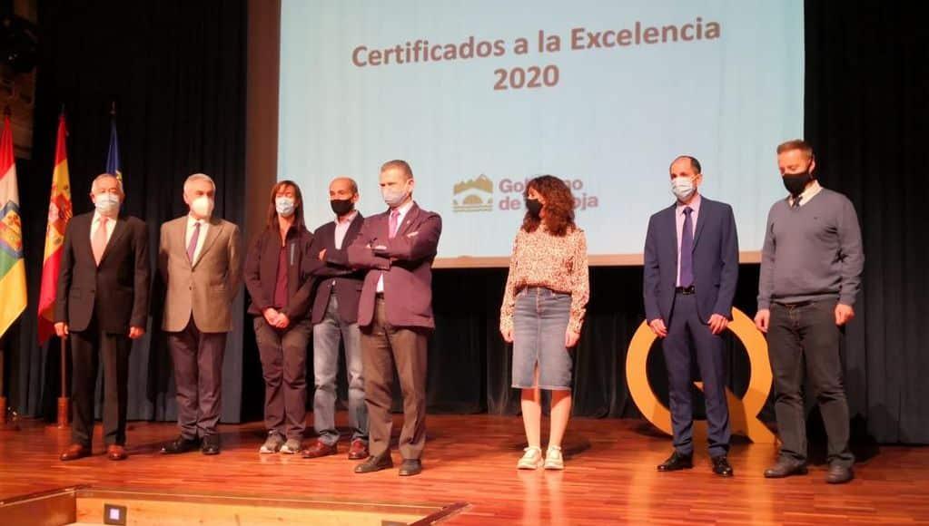 El Gobierno riojano reconoce la excelencia educativa del Colegio Sagrado Corazón de Haro 1