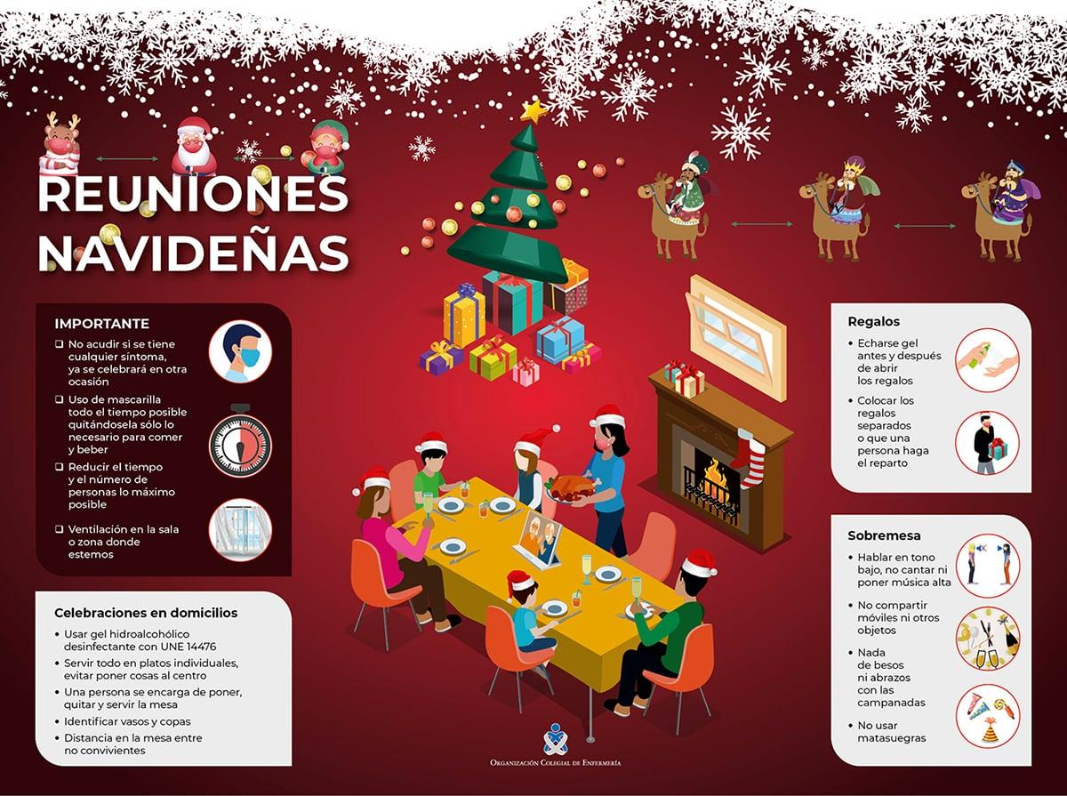El Colegio de Enfermería ofrece claves para evitar los contagios de coronavirus en Navidad 1