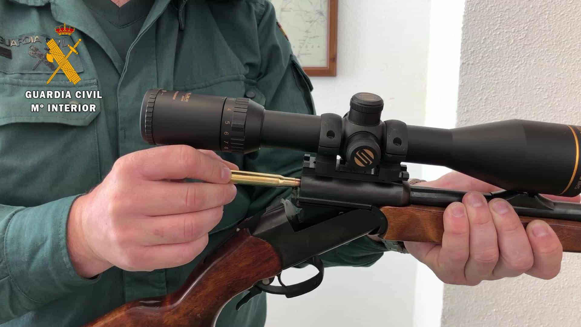 La Guardia Civil sorprende a tres cazadores furtivos en la Reserva Regional de Caza de Cameros-Demanda 1