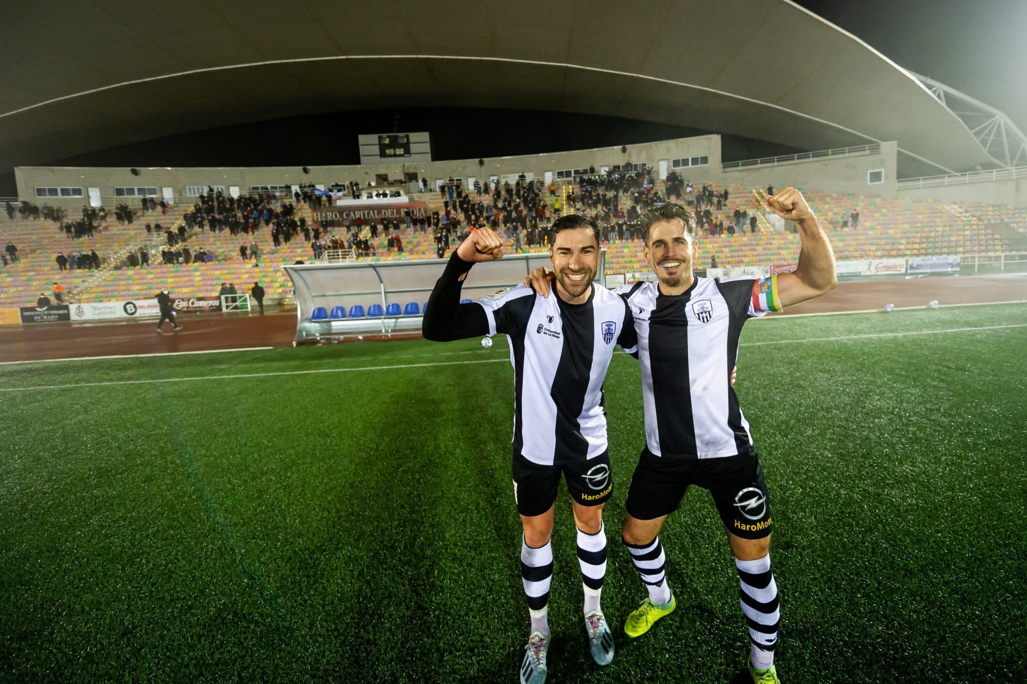 FOTOS: El Haro, el único equipo riojano que sobrevive en la Copa del Rey 5
