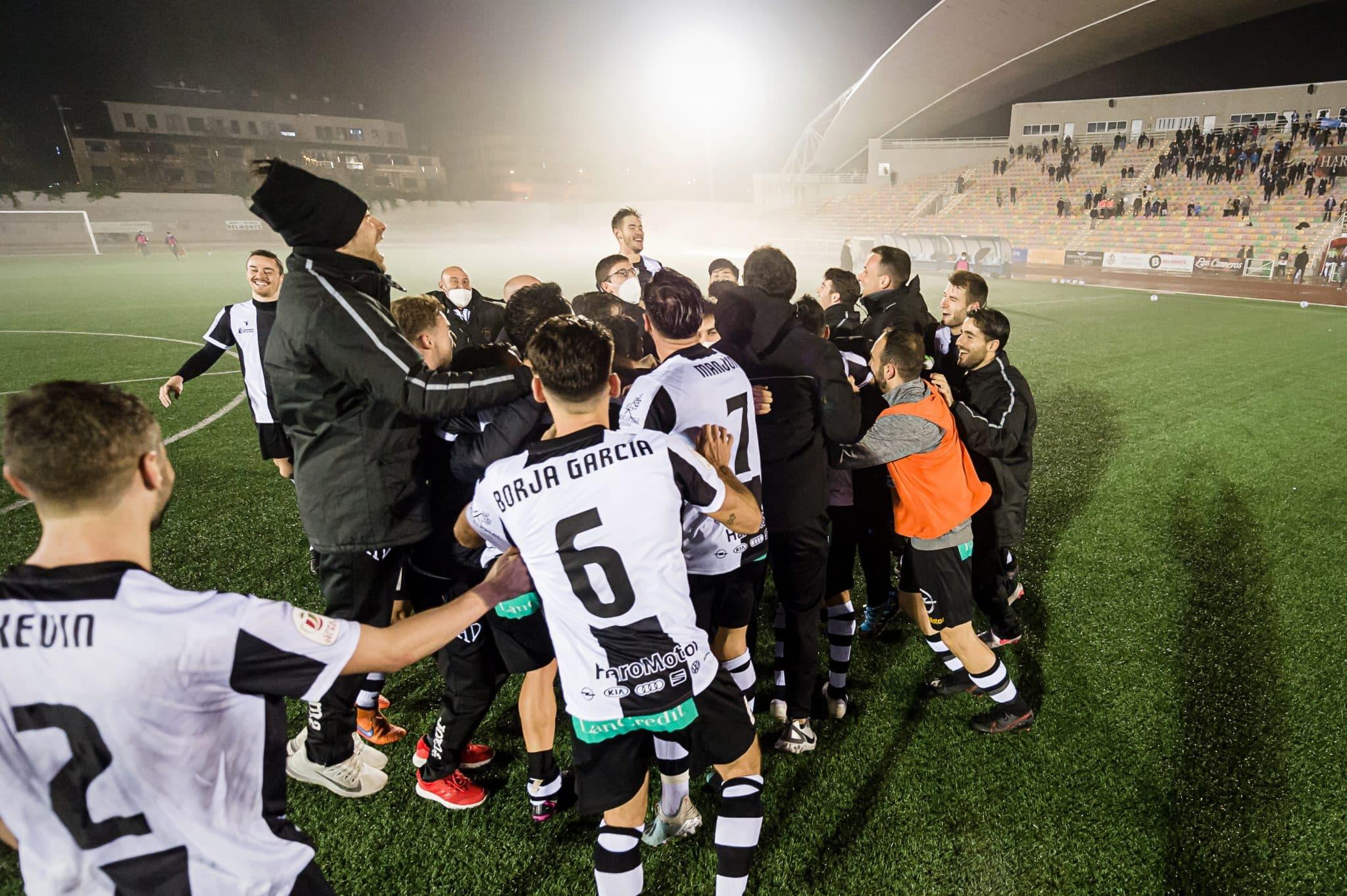 FOTOS: El Haro, el único equipo riojano que sobrevive en la Copa del Rey 19