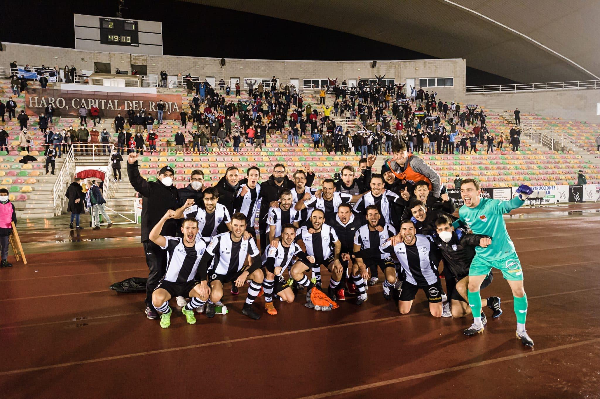 FOTOS: El Haro, el único equipo riojano que sobrevive en la Copa del Rey 1